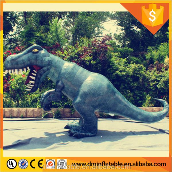 Gigante T-rex Dinosaurio Inflable Traje/parque Jurásico Dinosaurio ...