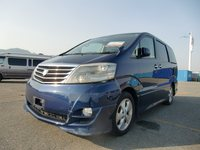 Durable used toyota Alphard with popular