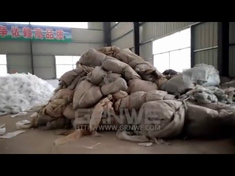 LDPE film Washing Plant ag-film/Shedding film/ Mulching film/Waste daily film Washing line