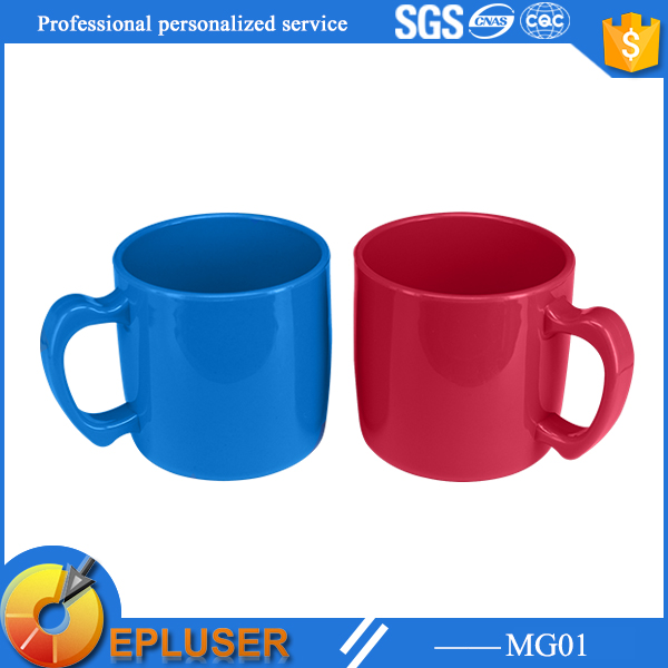290ml Novelty Coffee Mugs Gift Kids Plastic With Handles
