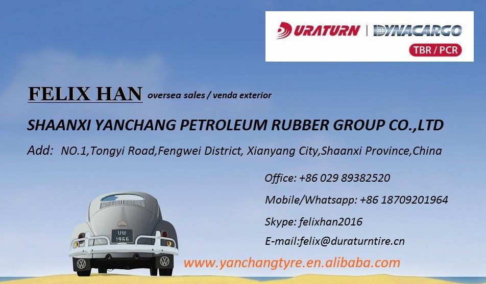 Duraturn All Steel Radial Truck Tyres 385/65r22.5 / Neumaticos De ...