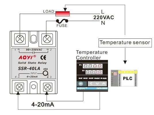 4 20ma ssr relay ssr 40la voltage regulator controller buy linear