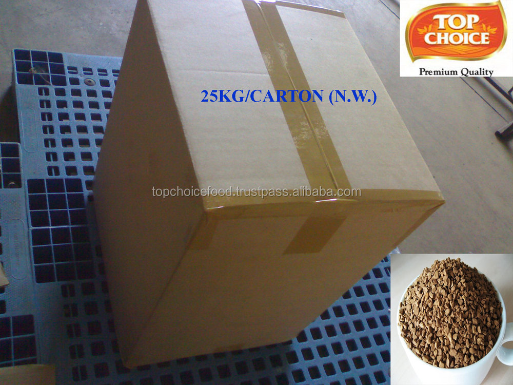 Freeze Dried Instant Coffee Sale For Turkey (25kg/carton)