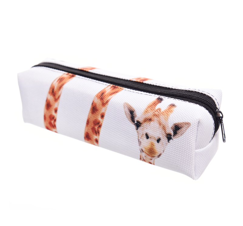 FactorytoShop (UK) Provider of Wholesale and Dropship Design Print Pencil Case - Girraffe