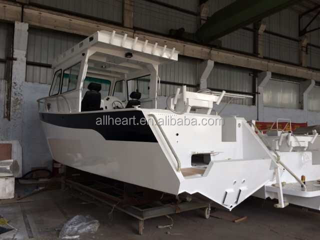 Manufacturer sale offshore fishing 23ft aluminium boat for Offshore fishing boat manufacturers