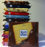 Ritter Sport, Dark Chocolate with Whole Hazelnuts, 100 gr. Multi Language