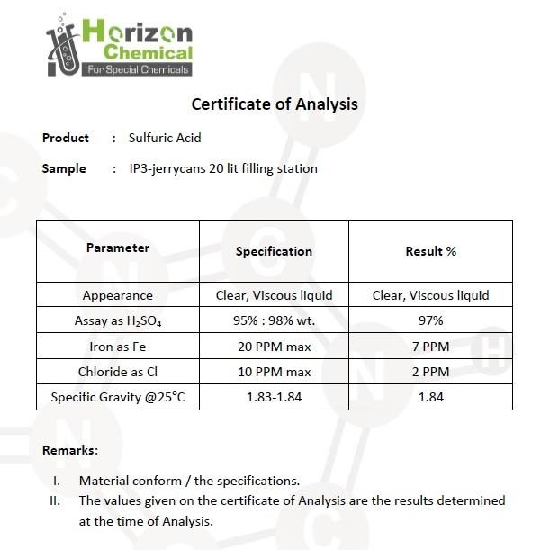 Sulfuric Acid 98%/ sulphuric acid 98% / liquid