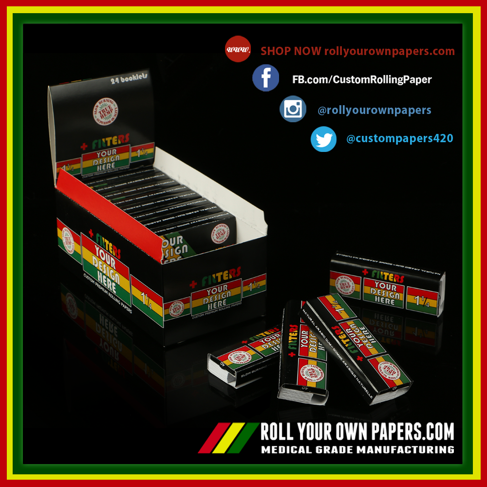 customized rolling papers Nobody can beat our price, quality and custom artwork we are the most experienced custom rolling paper factory anywhere go with the best.