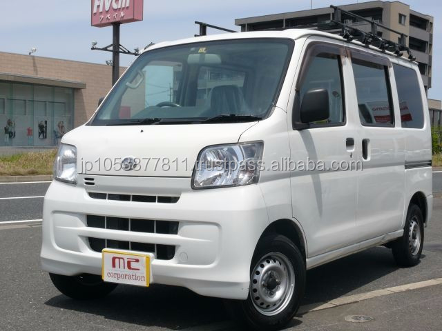 Good looking vehicle van with Good Condition made in Japan HIJET CARGO 660 Special