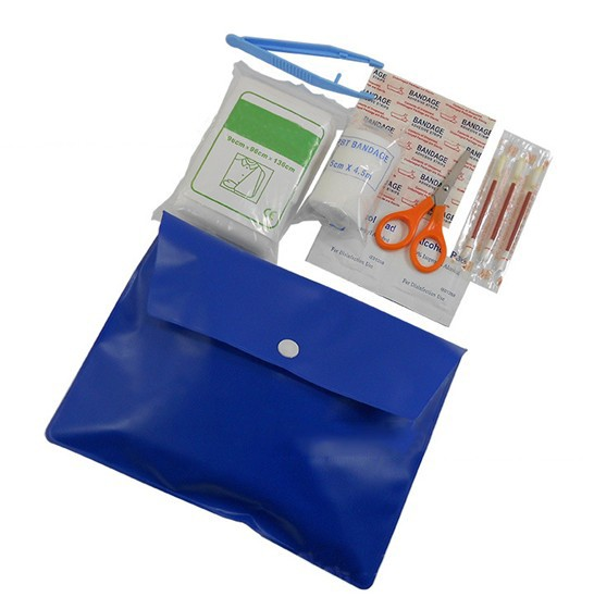 Promotional Cheap Custom Mini First Aid Kit with PVC Pouch