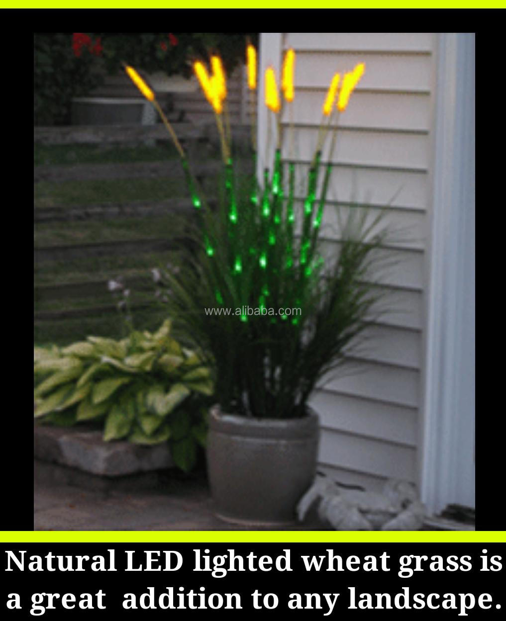 Artificial lighted ornamental led wheat grass garden decoration artificial lighted ornamental led wheat grass garden decoration workwithnaturefo