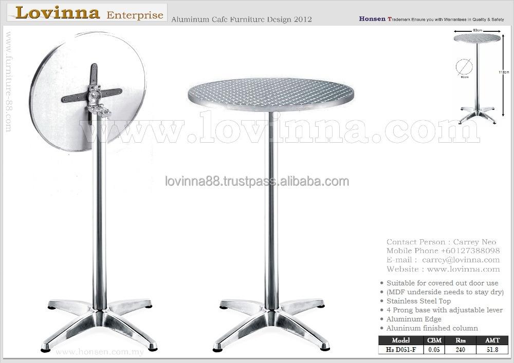 High Aluminum Folding Table,High Event Table,High Folding Table ...