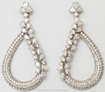 Amazingly Beautiful Diamond Earrings