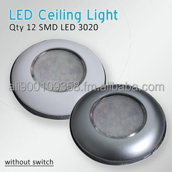 "Rv 3"" Round Led Interior Ceiling Light Cabin Light Without Switch ..."
