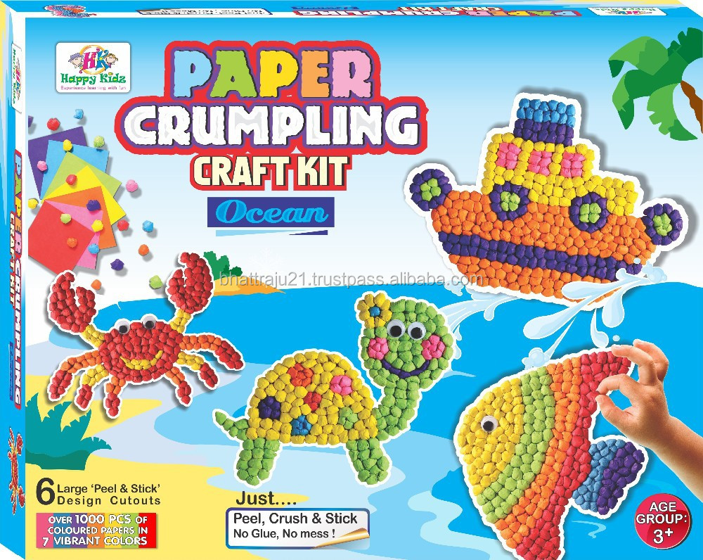 Craft toys for kids - Paper Crumpling Craft Toys Buy Paper Crumpling Craft Toys 3d Paper Toys Cube Craft Paper Toys Product On Alibaba Com