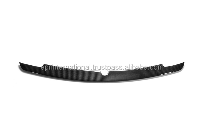 For Nissan R35 GTR GT-R Carbon Fiber Trunk Boot Lip Spoiler Add On