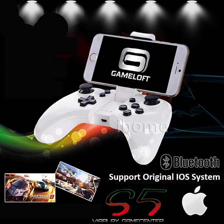 Nguồn nhà sản xuất Bluetooth Gamepad Đối Với Ipad chất lượng cao và