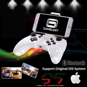 The Newest IOS App Gamepad, Pocket Bluetooth Game Controller, Apply to iPhone/iPad/iTouch IOS 7.0 +, Play original IOS Games