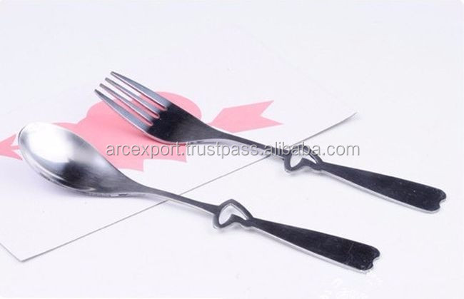 fish design metal cutlery