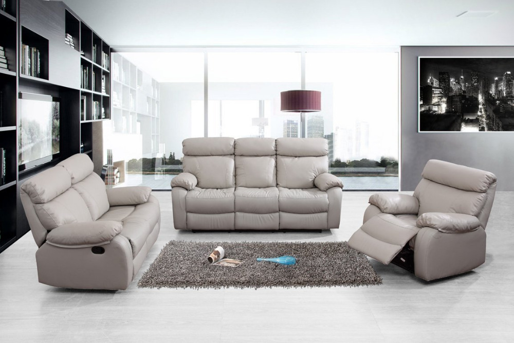 Lazy Boy Motion Sofa Leather Couch
