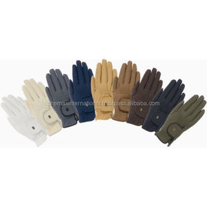 Grip Chester Quality Horse Riding Gloves Showing Competition
