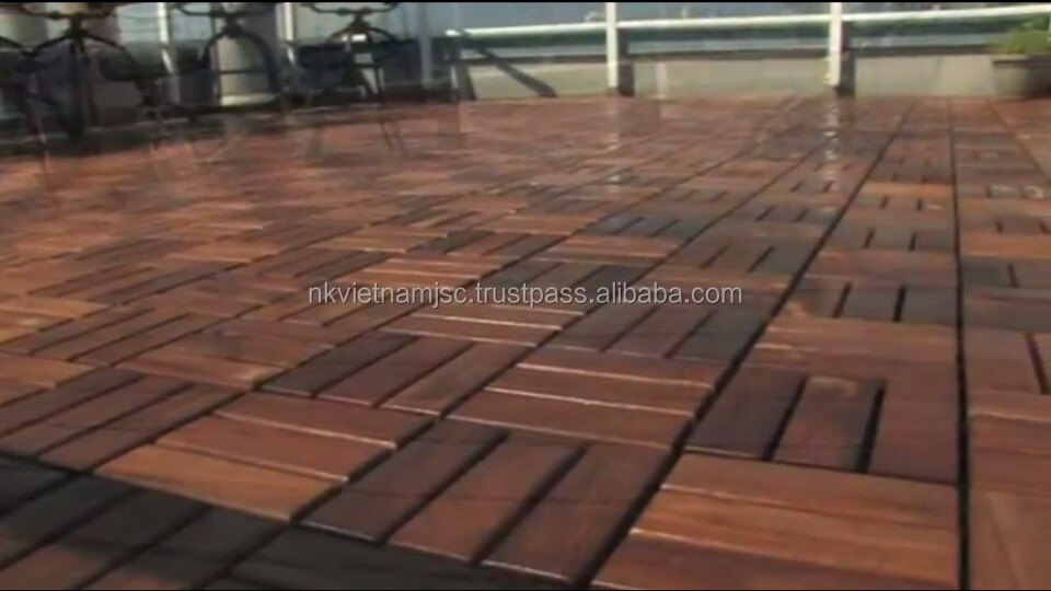 Vietnam Outdoor Furniture-Interlocking DIy Floor Tile