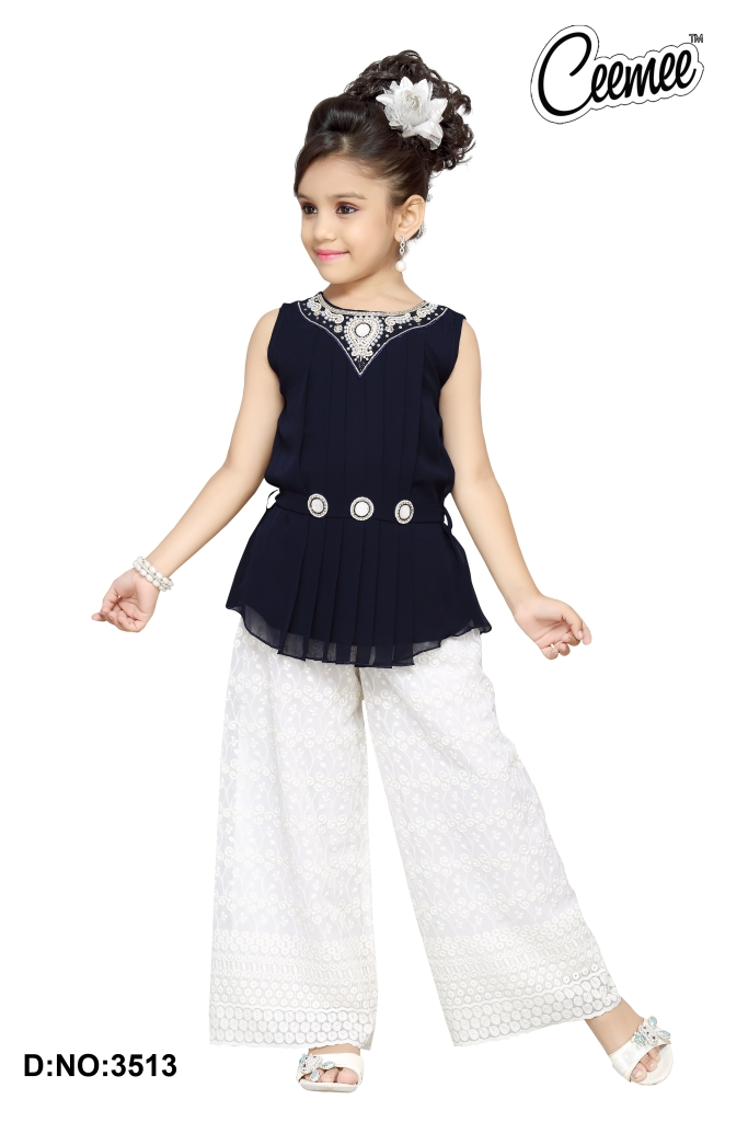 2a7f2a75a Latest Model Stylish Girls Dresses Plazo Suit - Buy Girls Casual ...