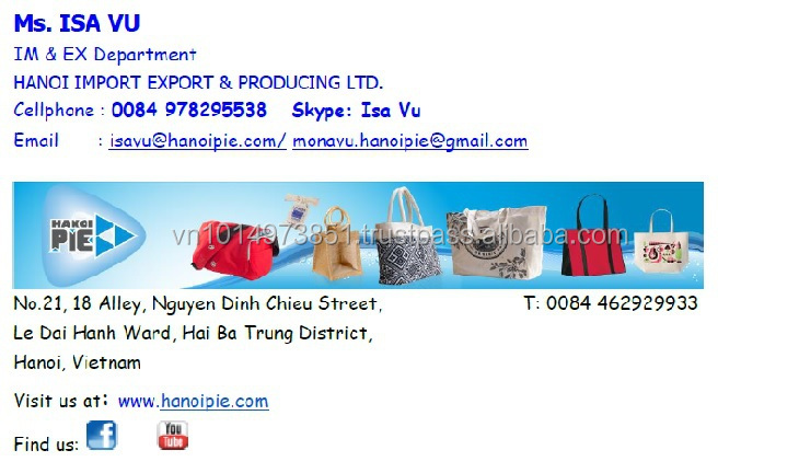 Hottest cotton bag for event, travel