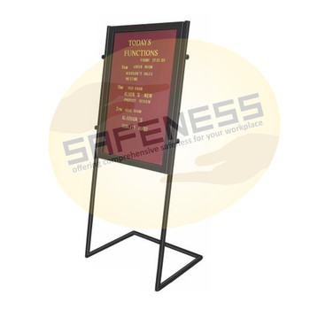 Lobby Board Stand Sql-sgn-nb-lbs-009