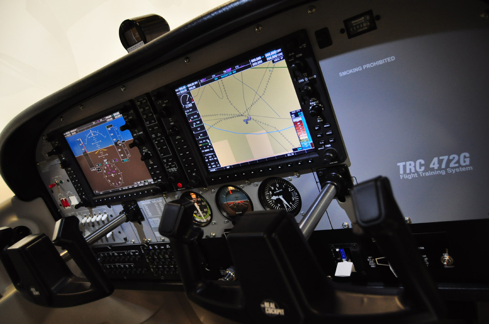 Trc 472 Fg Flight System - Buy Flight Simulator Glass Cockpit Trainer  Cessna 172 Product on Alibaba com