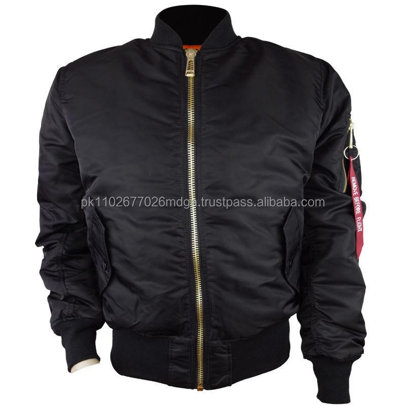 Original Men Nylon Bomber Jacket Wholesale,Bomber Jacket For Mens ...