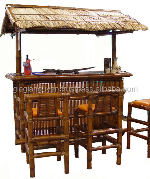 cheap bamboo tiki bar bamboo products with many designs. Black Bedroom Furniture Sets. Home Design Ideas
