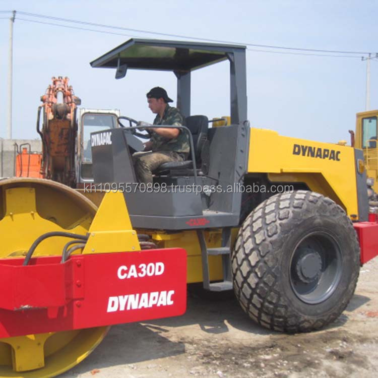 Cheap dynapac road roller CA30D,Used roller CA30D for sale