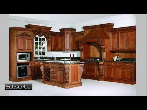 Wood Kitchen Cabinets - Pine Kitchen Cabinets