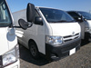 USED RIGHT HAND DRIVE VAN TOYOTA HIACE DIESEL VAN QDF-KDH201V 2013 WITH REFRIGERATOR & FREEZER