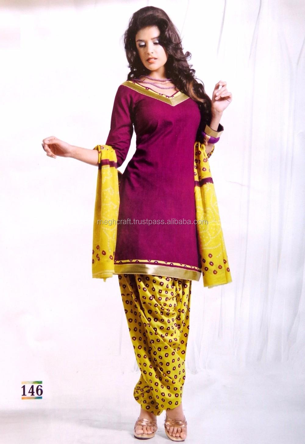 1b53aa1dcc Wholesale cotton Printed Dress Material - Patiyala Suit @ USD 12 - Pakistani  Salwar kameez -