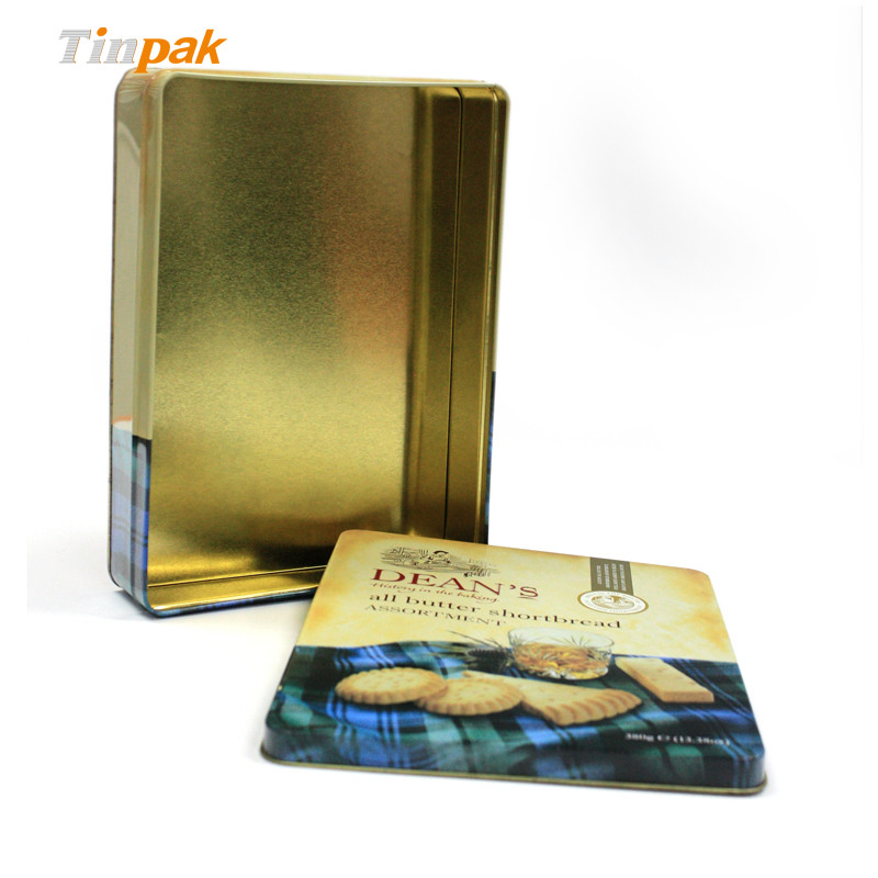 Custom Embossed Metal Cookie Tins China Supplier