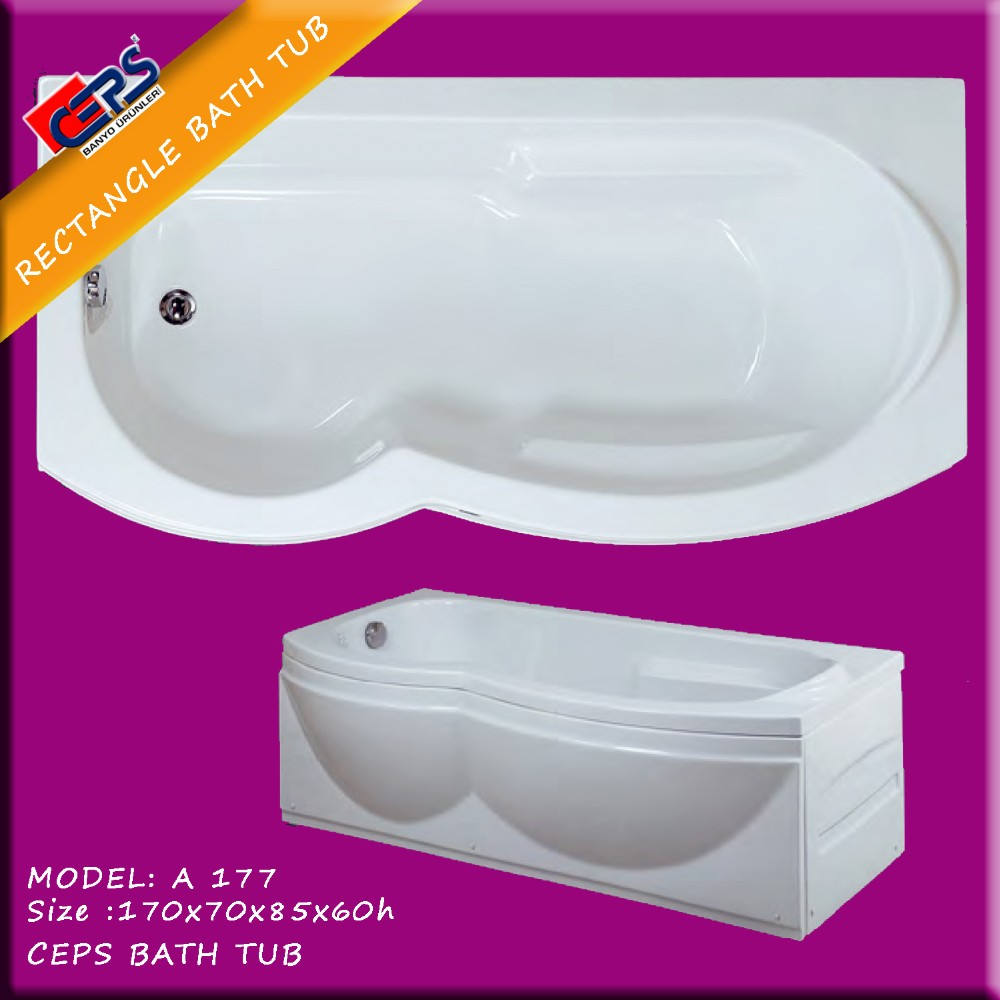 Rechteck Badewanne Aus Der Türkei Bad Badewannen 170x70x85x60 H