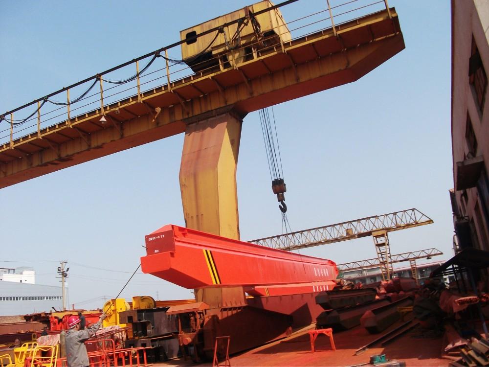 Overhead Crane Lifting Procedure : Electric hoist crane ton travelling mobile bridge
