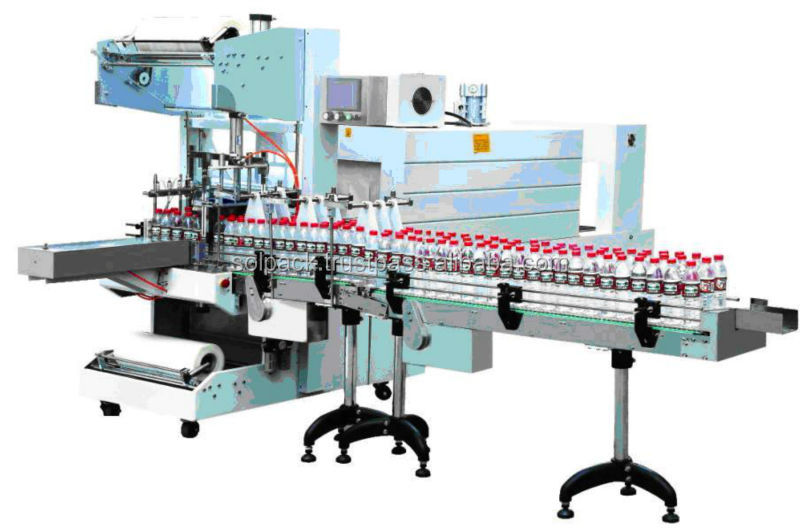 SOLPACK SYSTEMS Kroonkurk Shrink Wrap Machine
