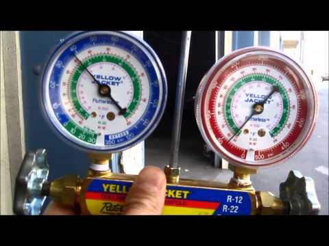 delorean ac lowpressure switch adjustment