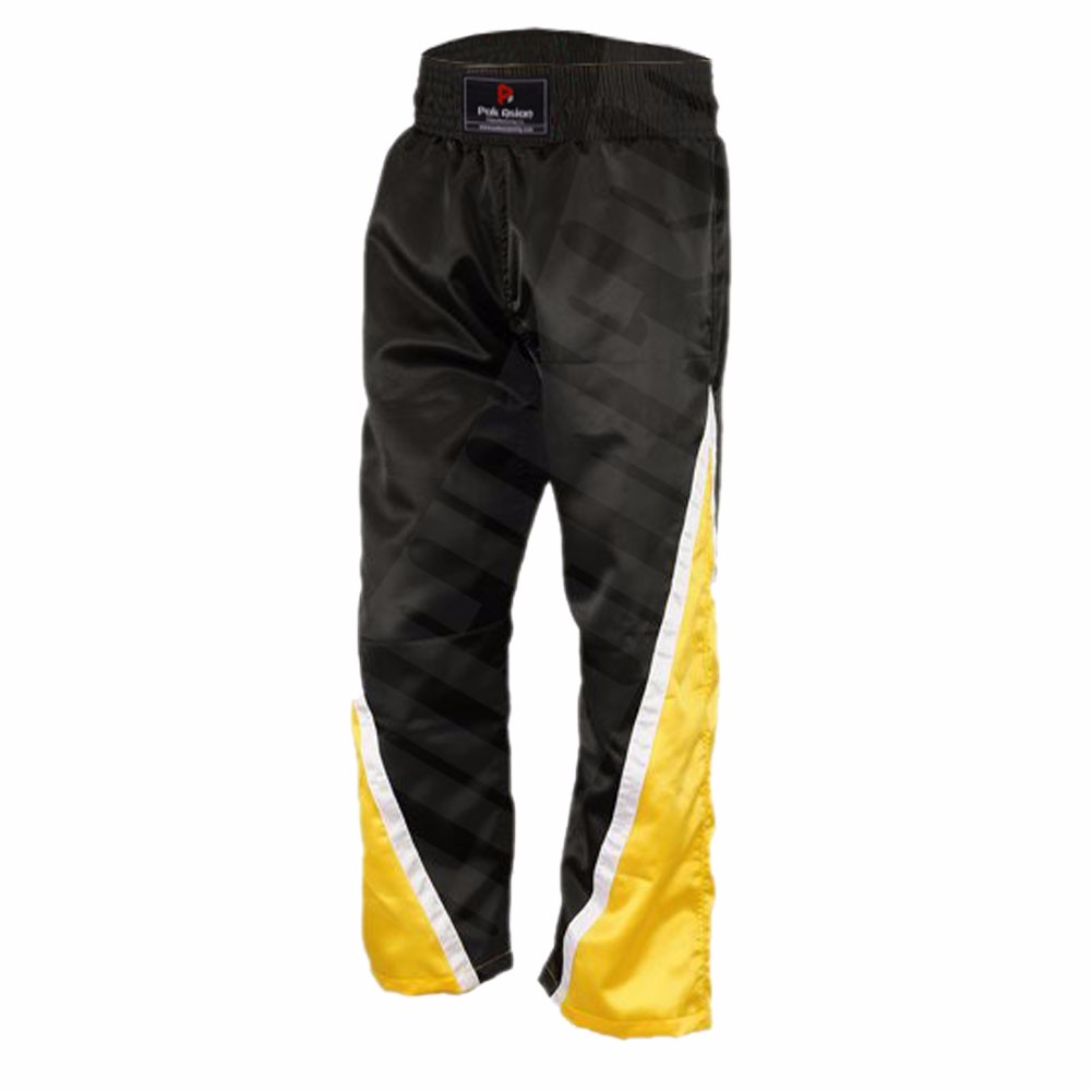 Polyester Muay Thai Shorts Kick Boxing Pants Grappling MMA Martial Arts Trousers