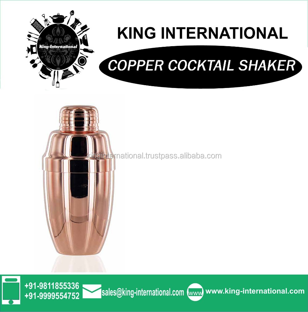 copper drinking shaker,mix drink shaker bottle cup,700ML shaker cups for protein shakes