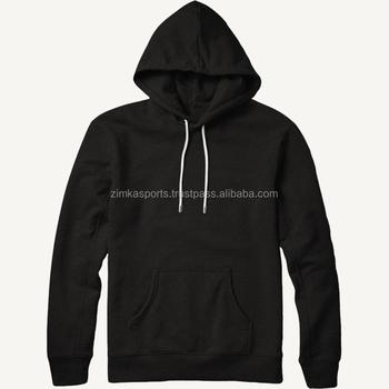 bcc10c05e4414 Personalizado camiseta sudaderas con capucha para hombres parar negro  Sudadera con capucha con cremallera lateral