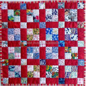 100 Cotton Patchwork Quilt Fabric King Size Cotton Quilt