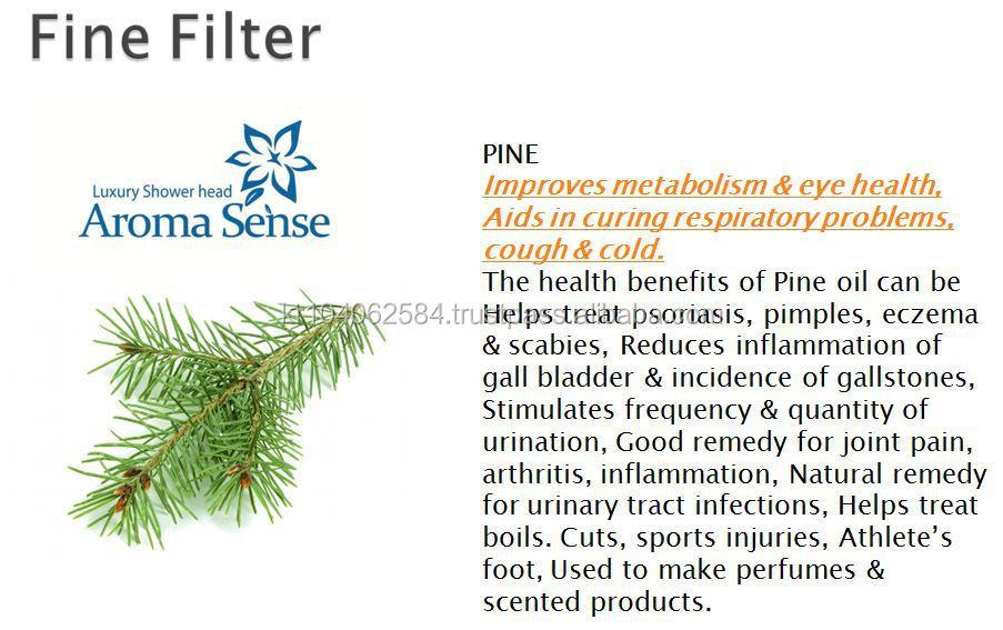 aroma sense shower filter lemon filter kntec vitamin c filter