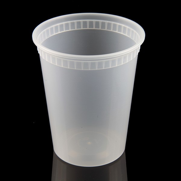 Premium Quality 32oz plastic disposable food grade deli soup cup