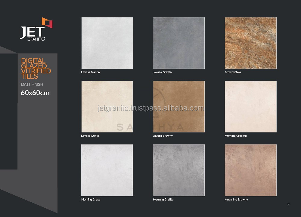 Luxury Bathroom Design Ceramic Tile 3d Wall And Floor Tile From Jet Granito I