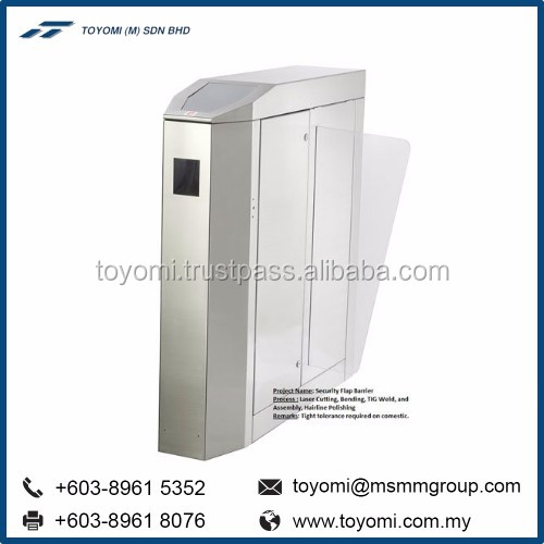 Security Single Double Flap Barrier Gate Access Control