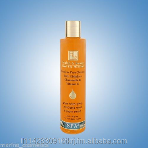 Dead Sea - H&B - Soapless Face Cleanser Obliphicha Oil - 250 ml